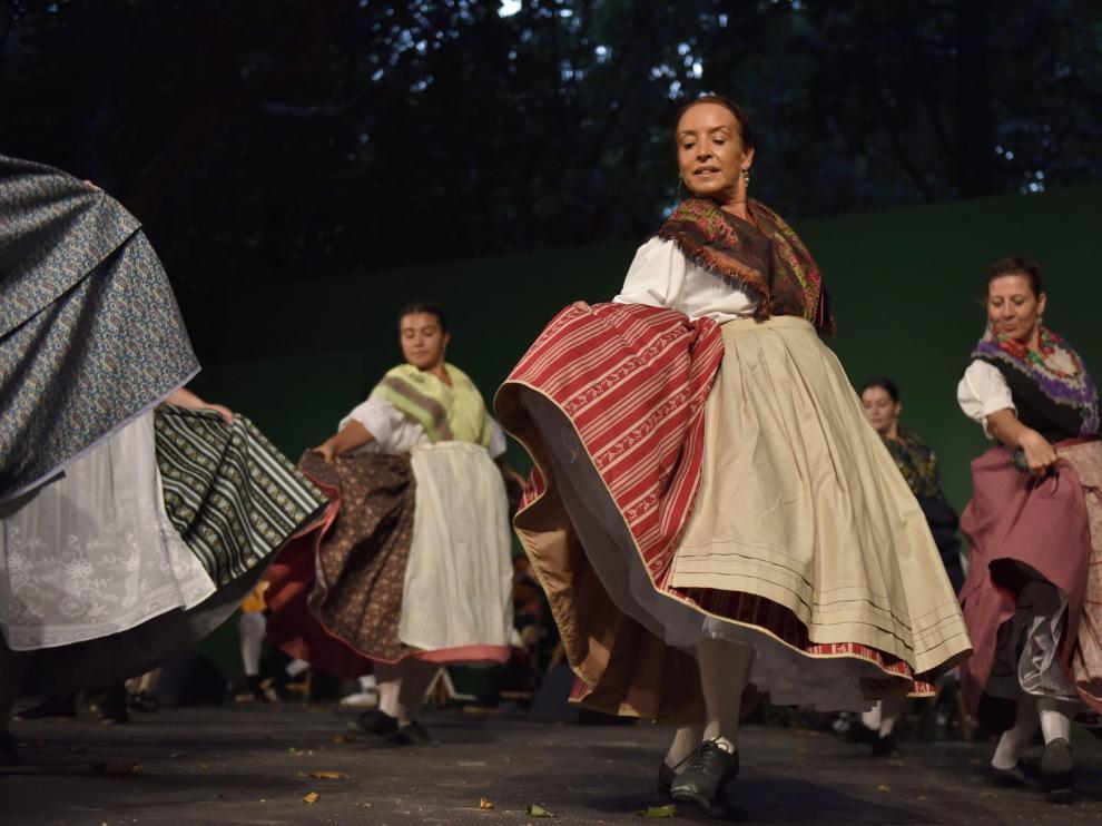 Una felicitación laurentina sonora y visual de Roldán del Alto Aragón