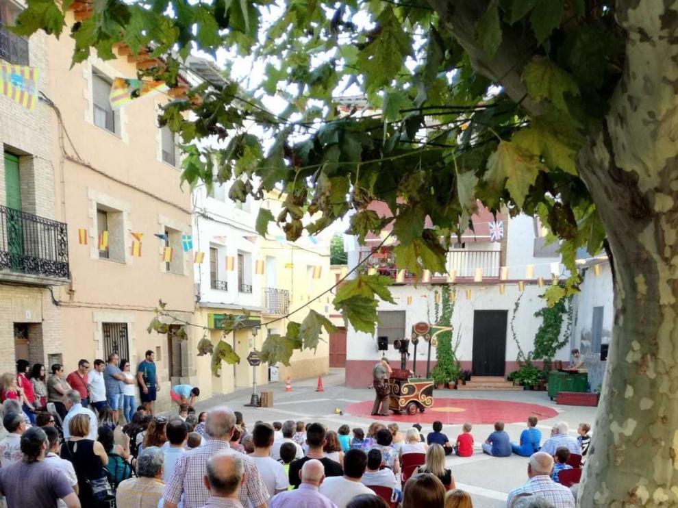 Arrancan en Pomar de Cinca unos festejos con deporte y mucha animación en las calles