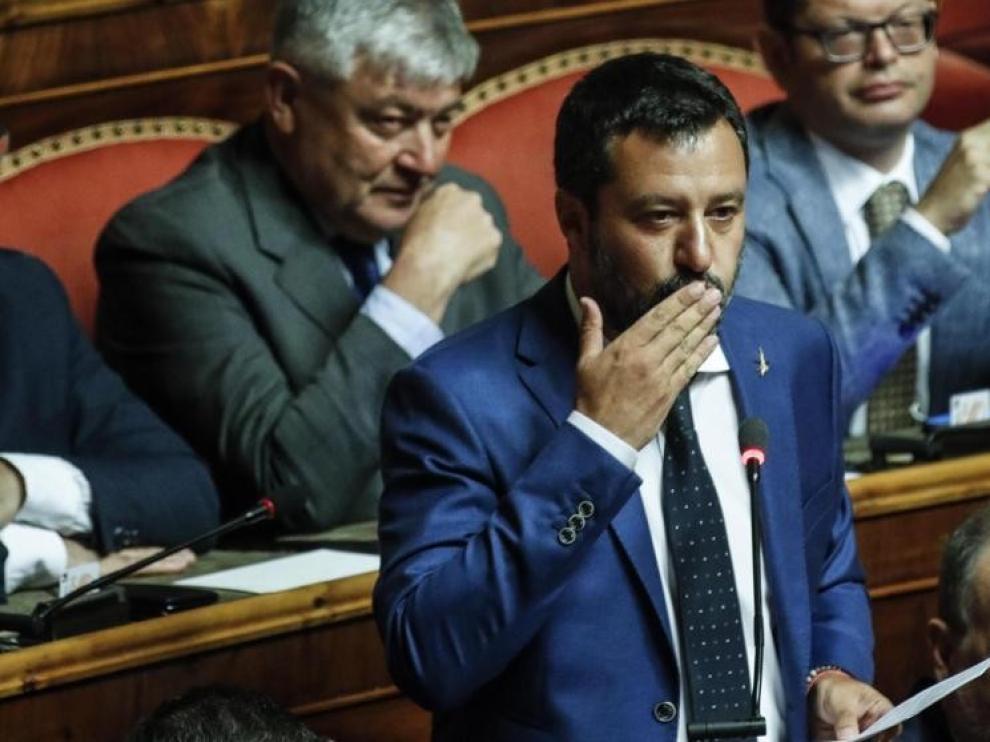 El M5S y la izquierda de Italia votan contra la moción