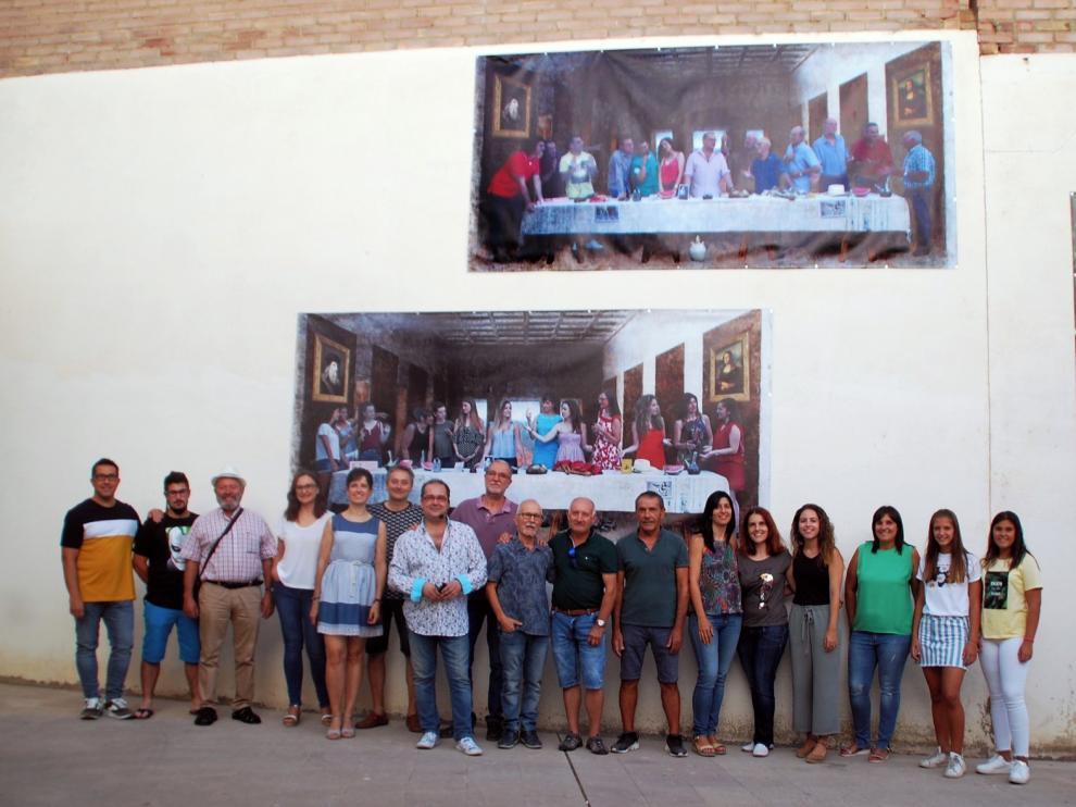 """Una """"Cena de Leonardo"""" monegrina, en el cine El Molino"""