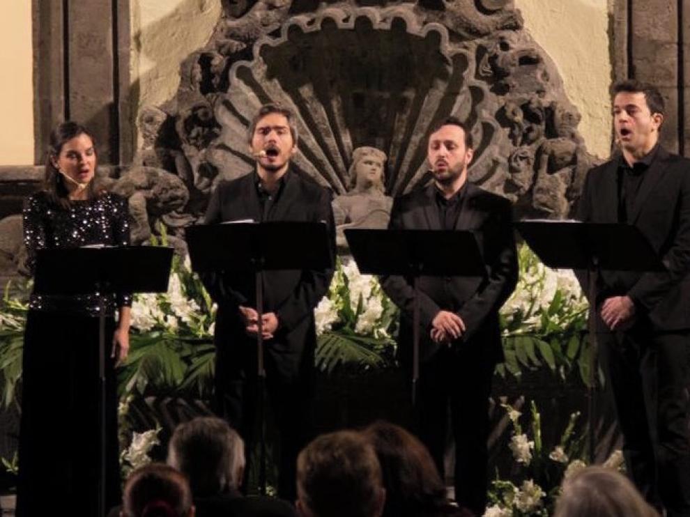 Vandalia lleva la polifonía sacra del Siglo de Oro a la iglesia de Siresa