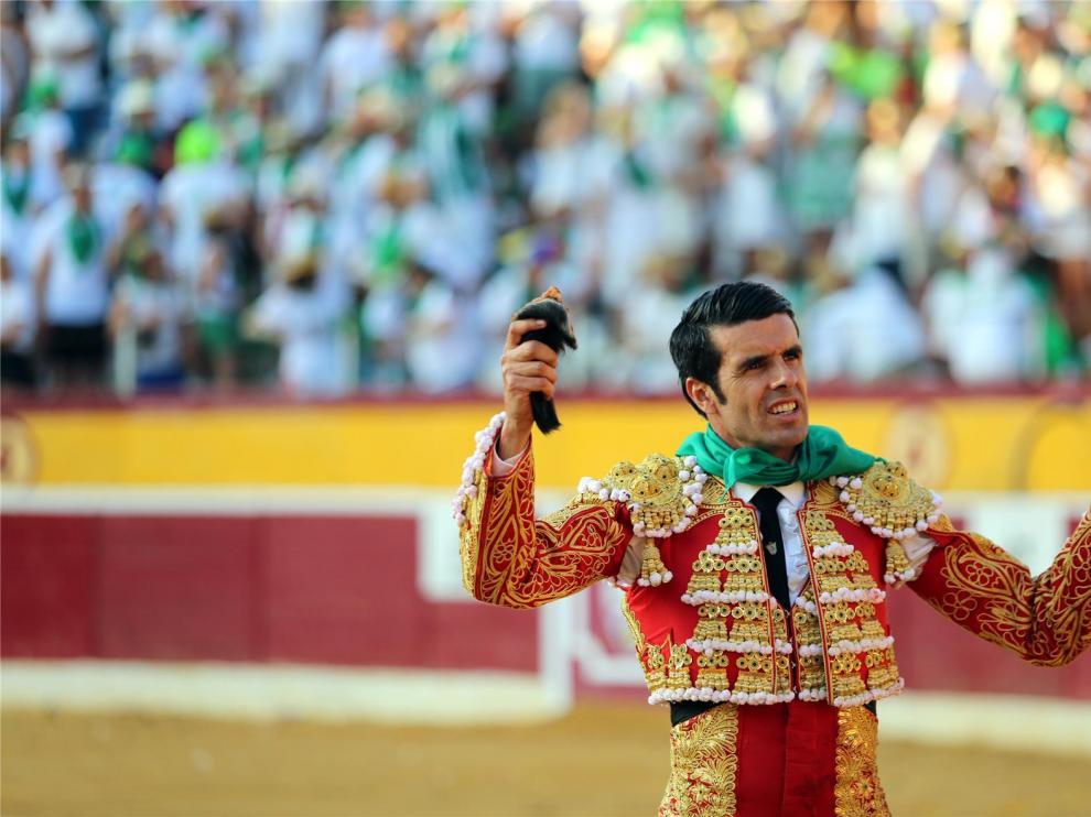 Emilio de Justo, mejor torero de la feria y Ginés Marín mejor faena