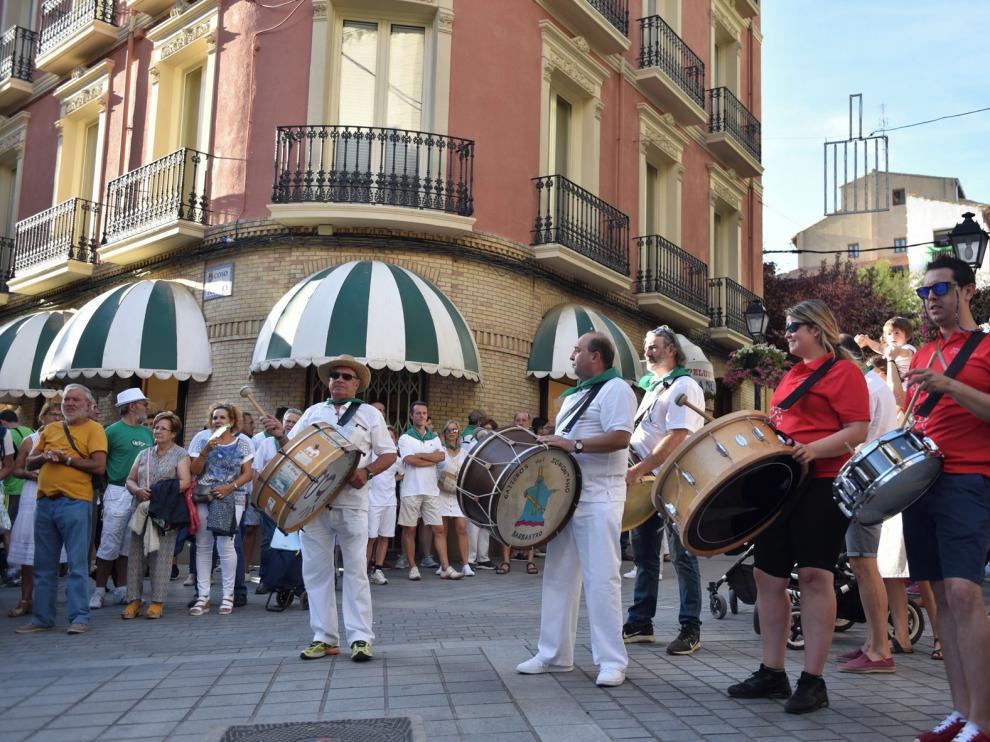Los gaiteros evocan la música popular más tradicional del Alto Aragón