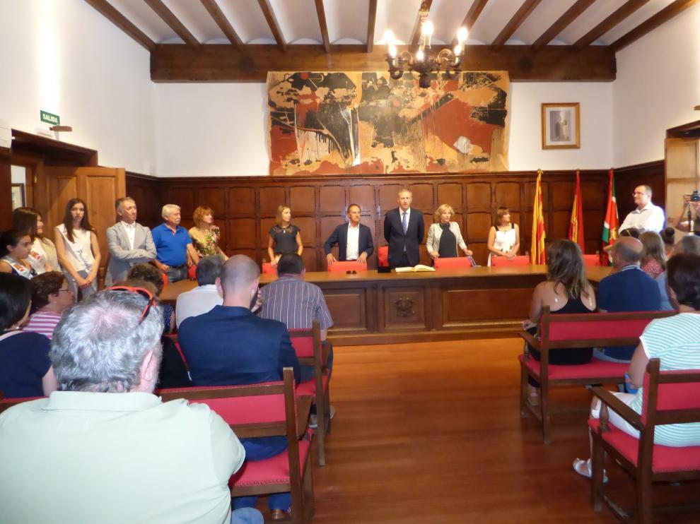 Biescas inaugura la remodelación del edificio del Ayuntamiento