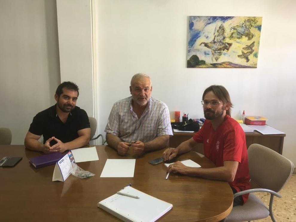 La Comarca de Monegros comienza su ronda de entrevistas con el alcalde de Leciñena