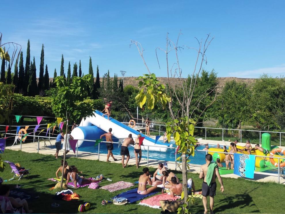 Alberuela inicia unas fiestas refrescantes, participativas y con tradición
