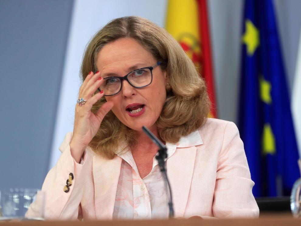 Calviño niega que la situación política en España preocupe a Europa