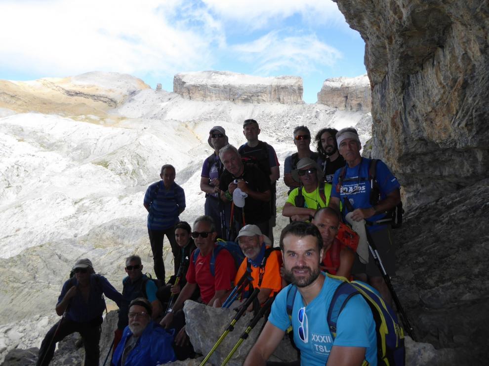 Mayencos sube al Casco y la Torre de Marboré