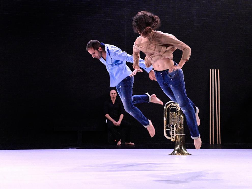 La danza de Daniel Abreu se hace hueco en el festival