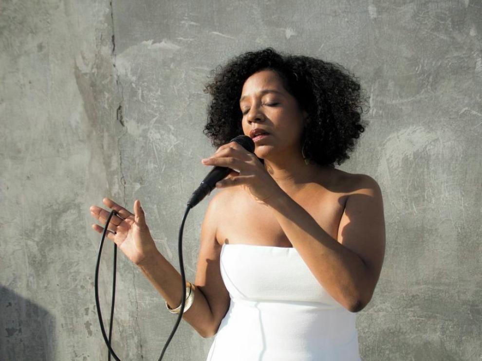 Violetta Curry, protagonista del Jazz al Huerto en Castejón de Sos