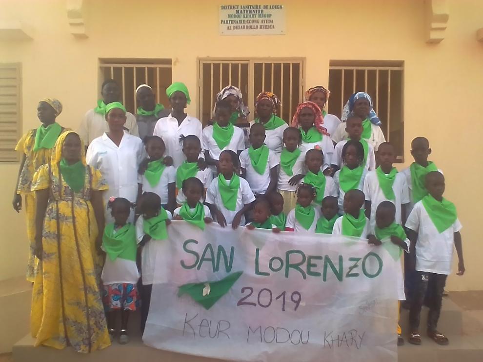 Huesca ya ha recaudado 710 euros para una maternidad de Senegal