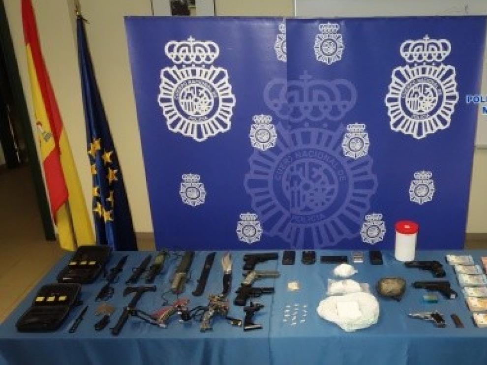 Desmantelan el principal punto de distribución de heroína en Asturias