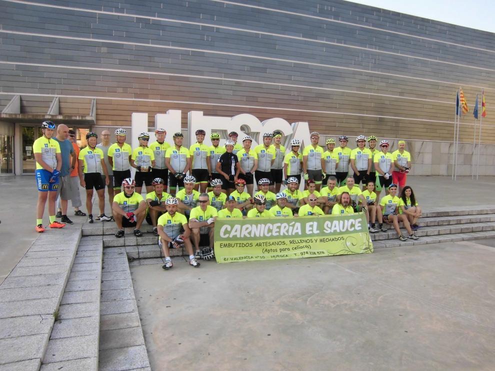 La XVI Marcha cicloturista Tarbes Huesca se celebrará en septiembre