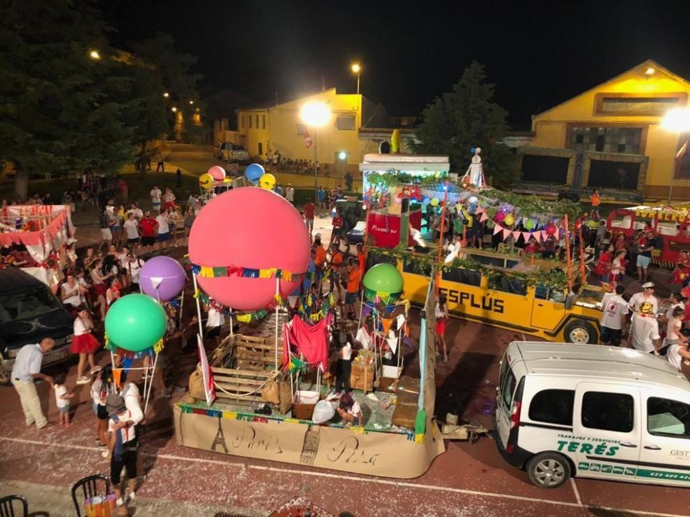"""El desfile de carrozas es el acto """"que se espera con más ganas"""" en Esplús"""