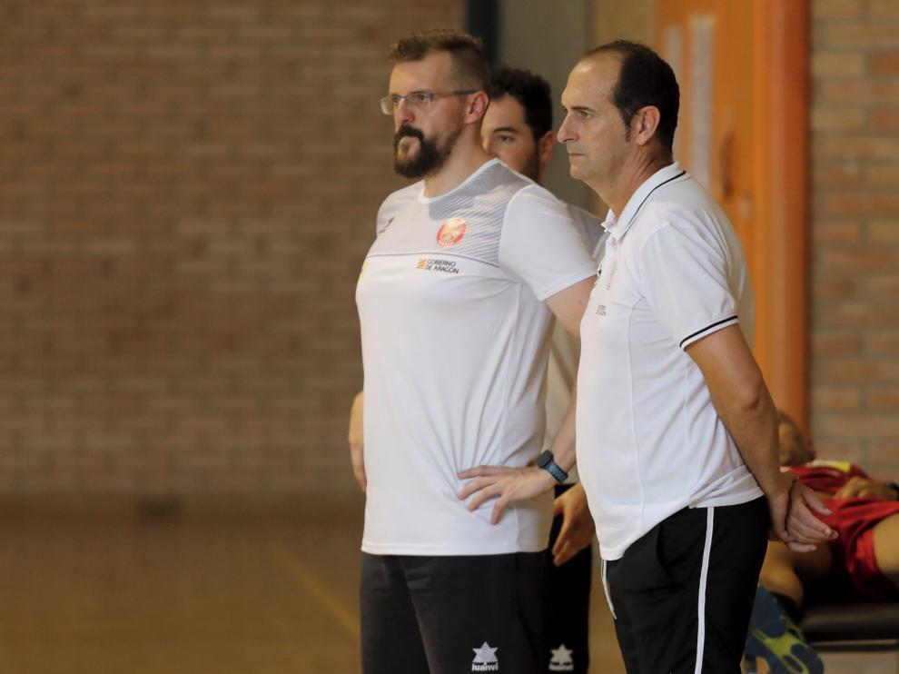 Bada Huesca disputa en Noain sus primeros amistosos de pretemporada