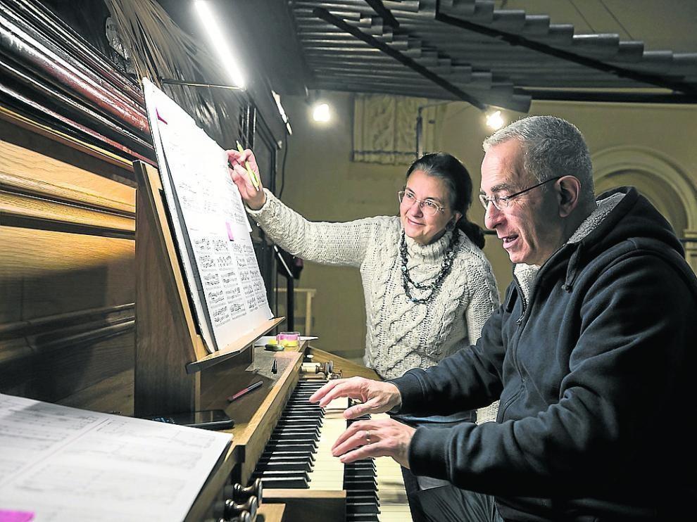 Concierto de órgano a cuatro manos con Hakim y Dufourcet en Torreciudad