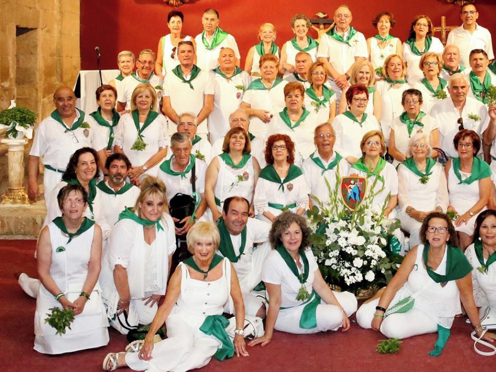 Os Casaus, fieles a la peregrinación hasta Loreto