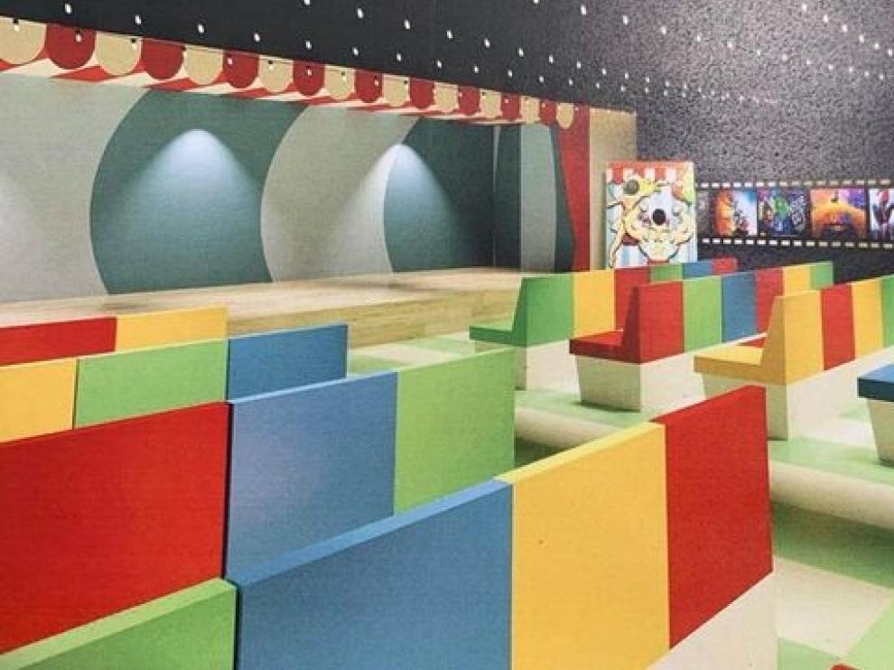 El Hospital Infantil de Zaragoza contará en octubre con un cine para los niños ingresados