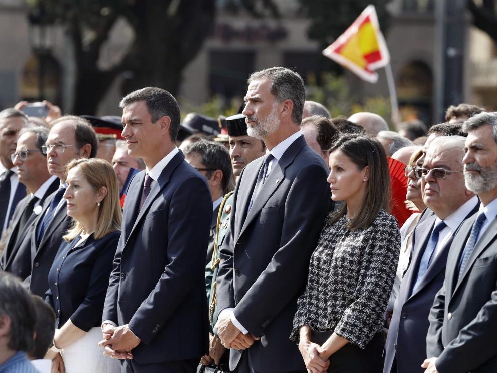 Conmemoración del segundo aniversario de los atentados del 17-A