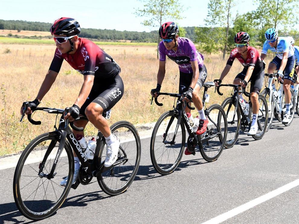 Jorge Arcas, protagonista en la Vuelta a Burgos