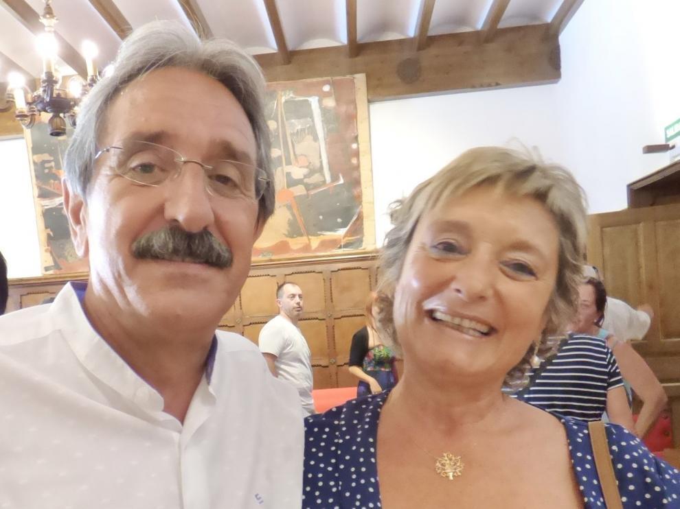 """Jesús Latas y Pili Nivela: """"Los alumnos siempre nos han ayudado a estar al pie del cañón"""""""