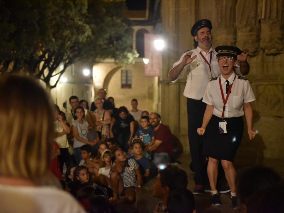 Aerolíneas de Leyenda estrena dos itinerarios por las calles de Huesca