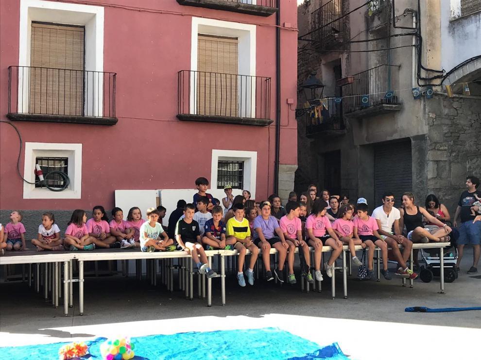 Lascuarre disfruta de las fiestas de La Asunción
