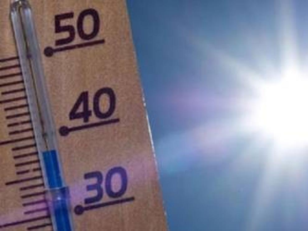 Activada la alerta de calor en todo Huesca durante las horas centrales de este domingo