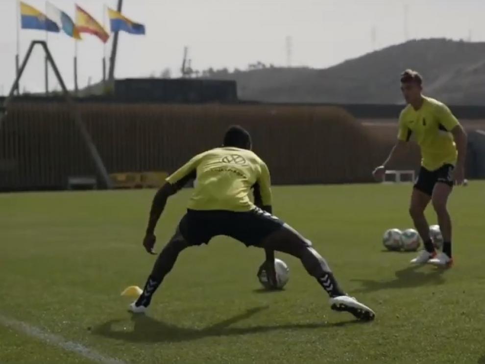 Las Palmas, con trece jugadores del primer equipo