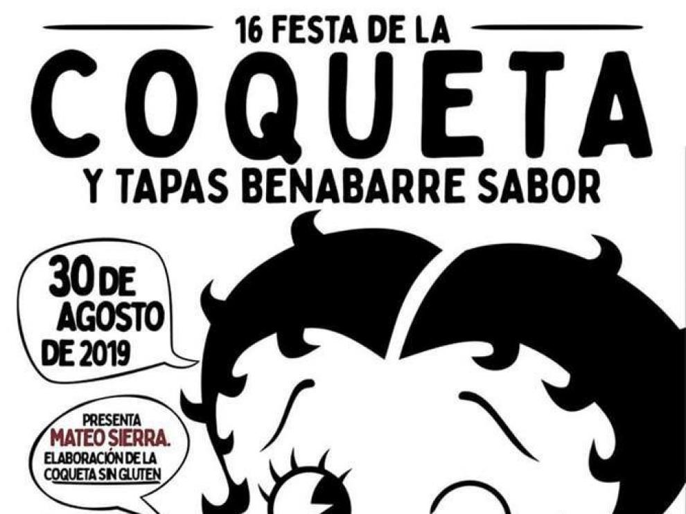 La Fiesta de la Coqueta de Benabarre ya tiene cartel