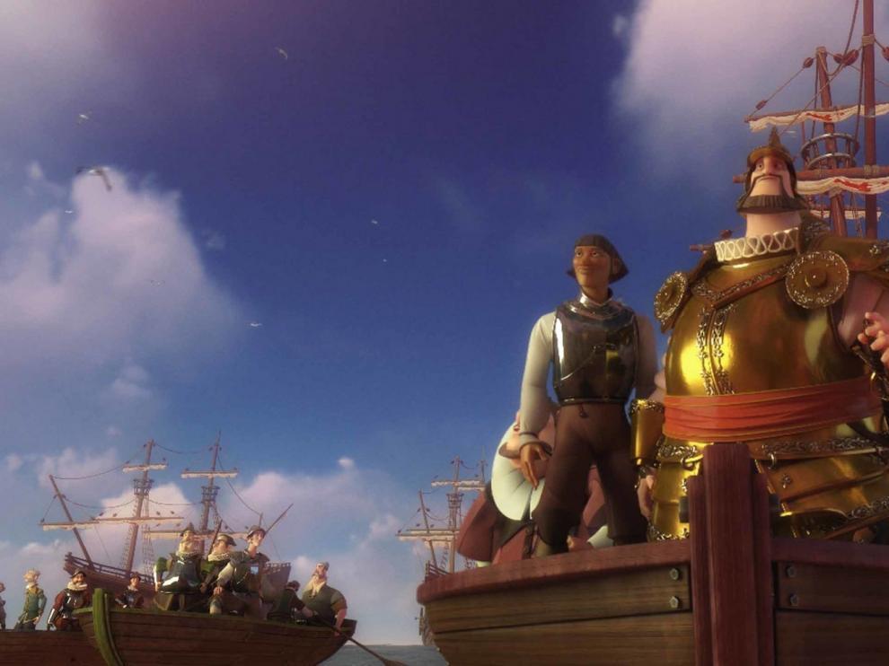 """Este domingo se proyecta en Jaca el filme de animación """"Elcano y Magallanes"""""""