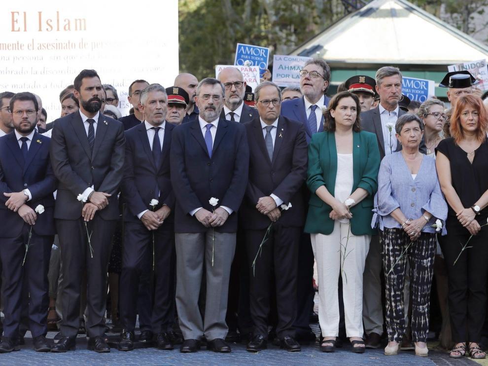 Barcelona recuerda a las víctimas del 17A