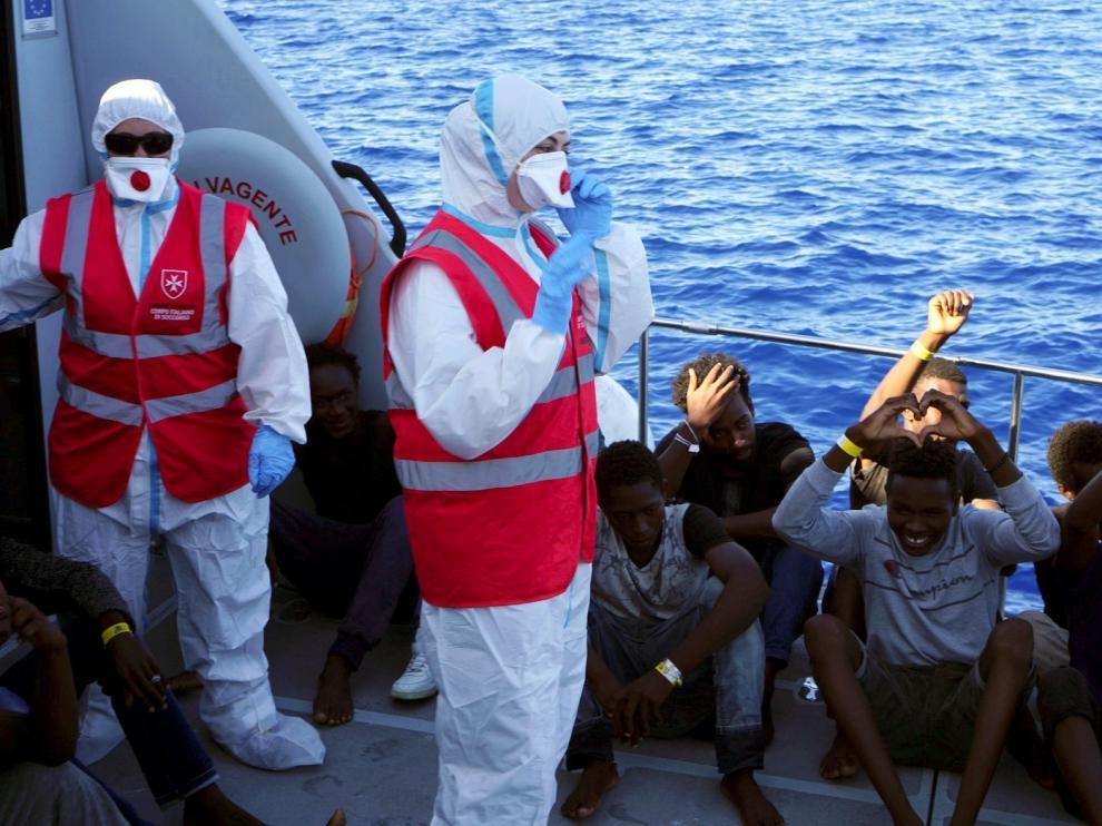 Los 27 menores de Open Arms desembarcan pese a Salvini