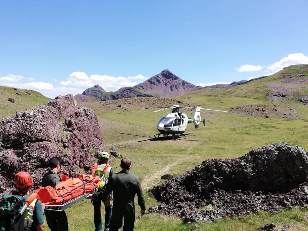 Muere la montañera madrileña que fue rescatada en el pico Monje en Astún
