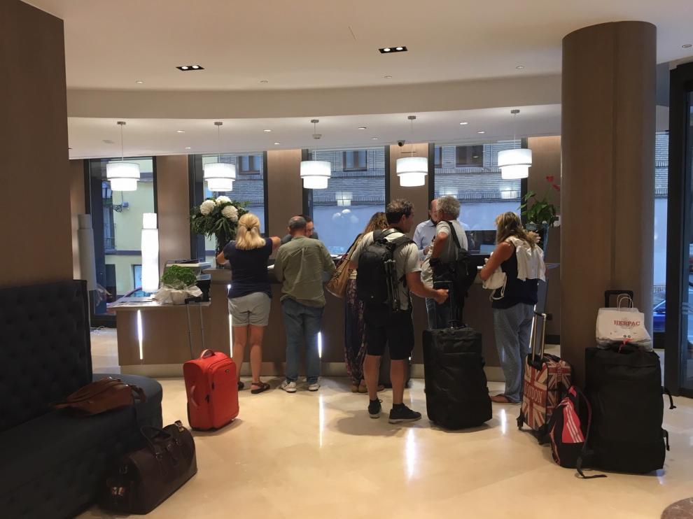 Los hoteles de Huesca cierran unas fiestas muy positivas