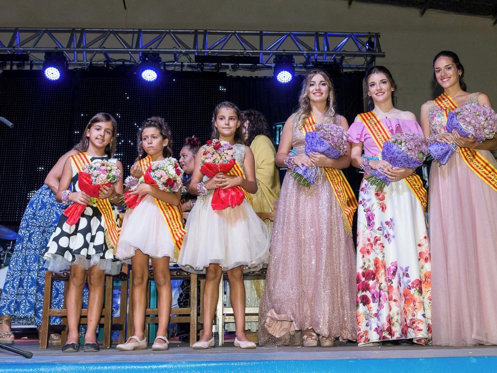 Multitudinario acto en Sariñena para presentar a sus mairalesas