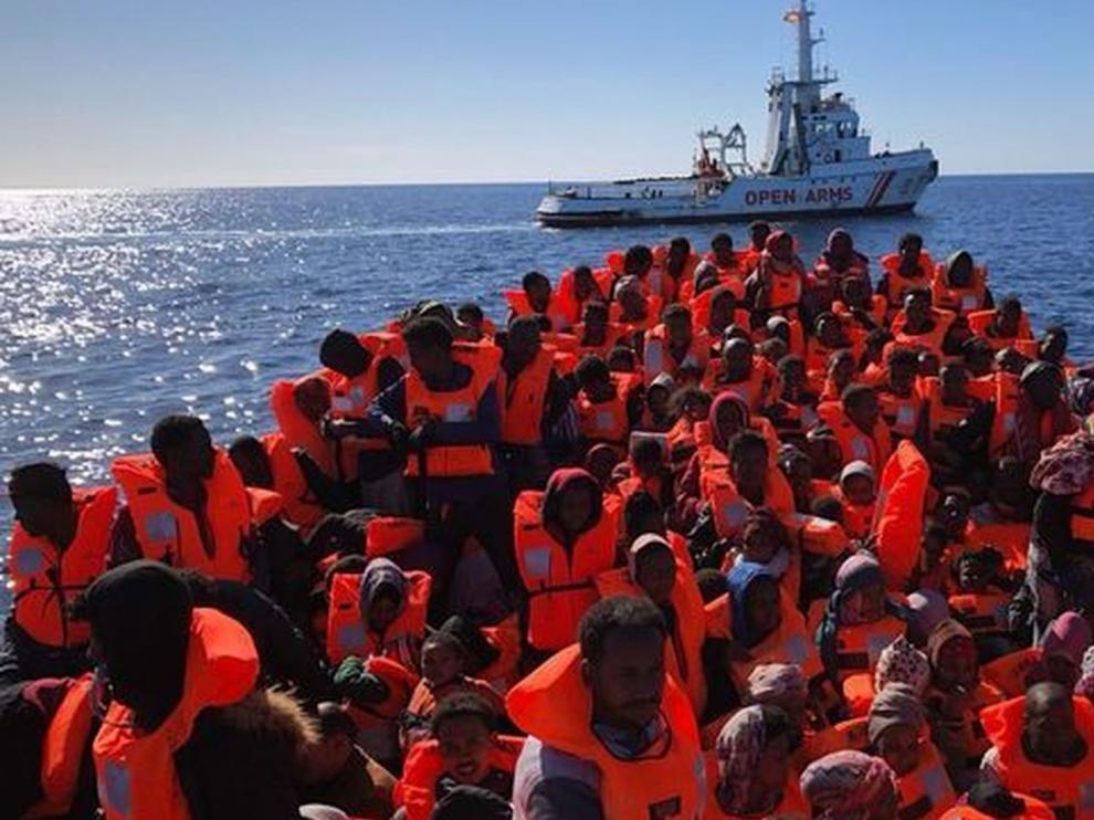 España ofrece a Open Arms el puerto español más cercano