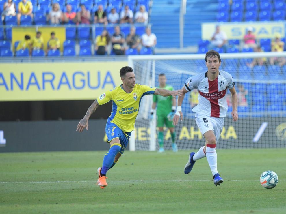 """Gallar: """"Los tres puntos se vienen para Huesca, toca disfrutarlos"""""""