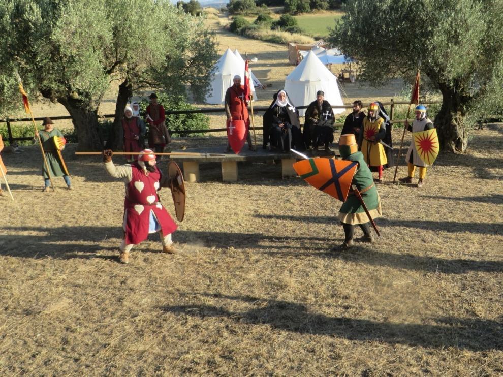 Ibieca hace un buen balance de las jornadas medievales