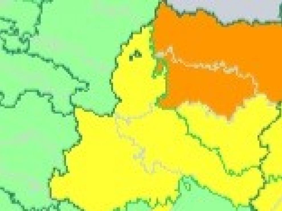 Pronóstico de más de 100 litros de lluvia por metro cuadrado en el Pirineo