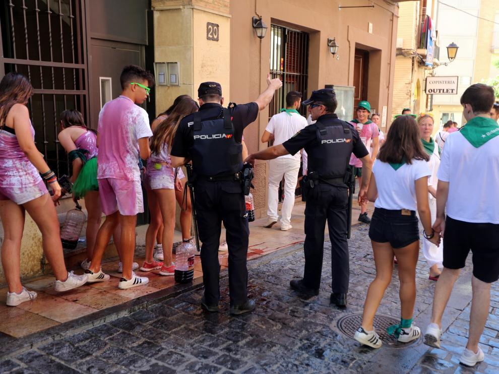El Ayuntamiento de Huesca trabaja para erradicar todo acto violento y aumentar la seguridad todo el año