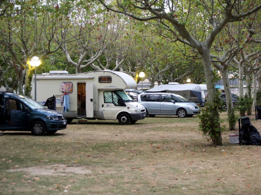 """El campin San Jorge colgó el """"completo"""" en el inicio de las fiestas de Huesca"""