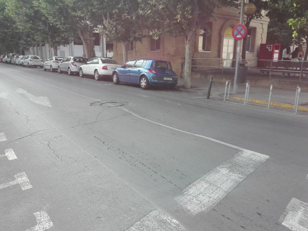 Adjudicada la reparación puntual de seis socavones en Huesca