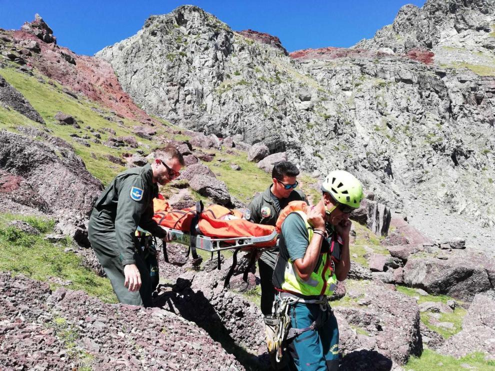 """Luis Masgrau: """"Se incumplen normas básicas de lo que es moverse por la montaña"""""""