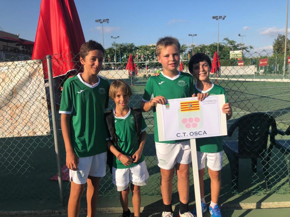 El CT Osca participa en el Nacional por equipos alevín