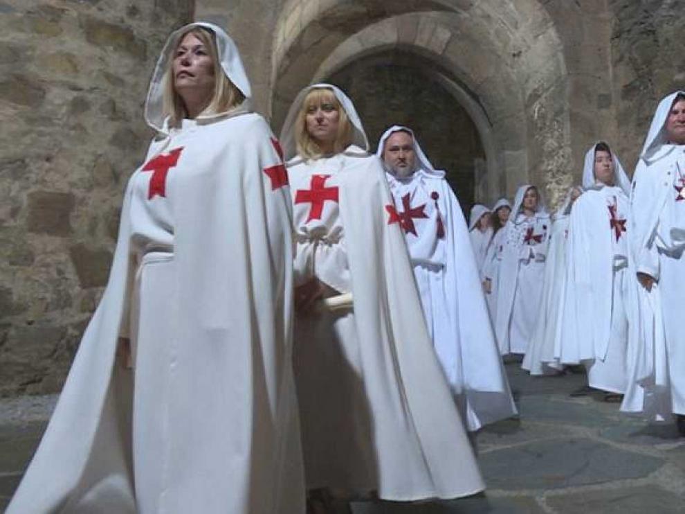 """La ordenación de caballeros templarios, en """"Comando al sol"""""""
