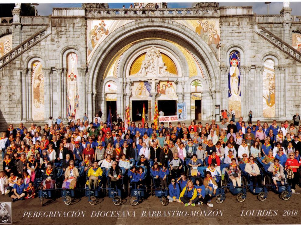 Casi 300 personas de la diócesis Barbastro-Monzón participarán en la XXIV Peregrinación a Lourdes