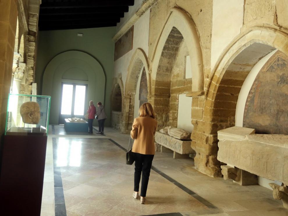 El Museo Diocesano de Huesca registra más visitantes con respecto a 2018