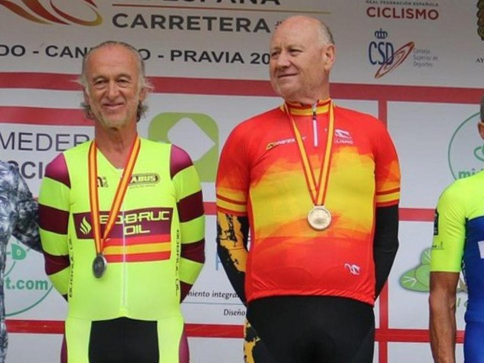 Oro y plata para Argudo y García Landa en el Nacional de Ciclismo Master