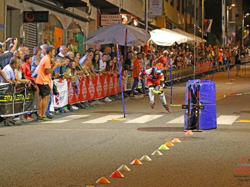Olatz Flores logra una plata europea en León de Roller Ski
